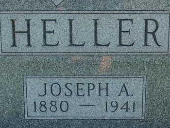HELLER, JOSEPH A - Warren County, Iowa   JOSEPH A HELLER