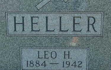 HELLER, LEO H - Warren County, Iowa | LEO H HELLER