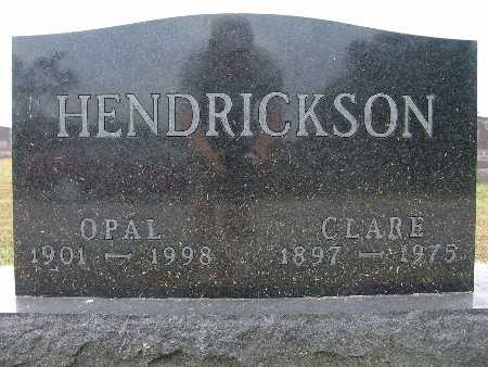 HENDRICKSON, OPAL - Warren County, Iowa | OPAL HENDRICKSON