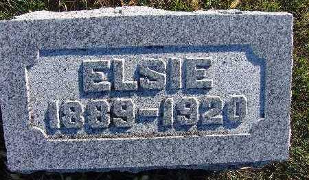HENDRICKSON, ELSIE - Warren County, Iowa   ELSIE HENDRICKSON
