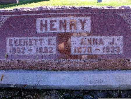 HENRY, EVERETT E. - Warren County, Iowa | EVERETT E. HENRY