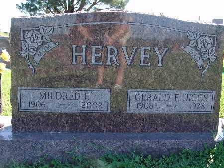 HERVEY, MILDRED F - Warren County, Iowa   MILDRED F HERVEY