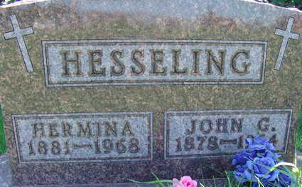 HESSELING, JOHN G - Warren County, Iowa | JOHN G HESSELING