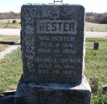 HESTER, ISABELL - Warren County, Iowa   ISABELL HESTER