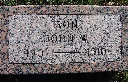 HEWITT, JOHN W. - Warren County, Iowa | JOHN W. HEWITT