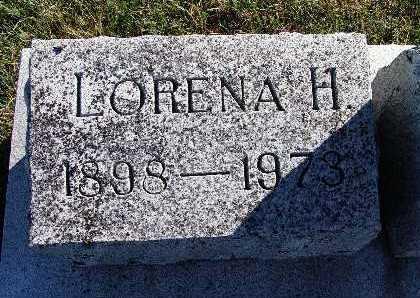 HEWITT, LORENA H. - Warren County, Iowa | LORENA H. HEWITT