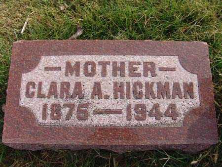 HICKMAN, CLARA A. - Warren County, Iowa   CLARA A. HICKMAN