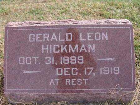 HICKMAN, GERALD LEON - Warren County, Iowa | GERALD LEON HICKMAN