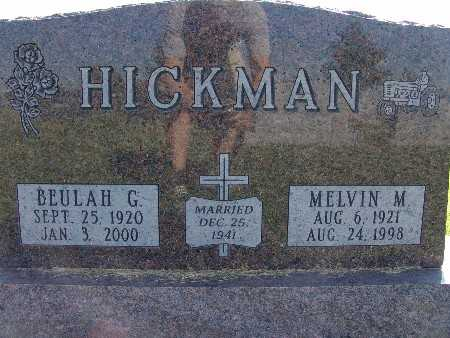 HICKMAN, BEULAH G. - Warren County, Iowa | BEULAH G. HICKMAN