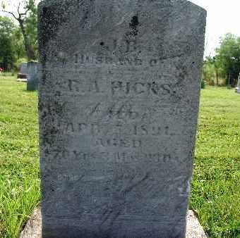 HICKS, B. A. - Warren County, Iowa | B. A. HICKS