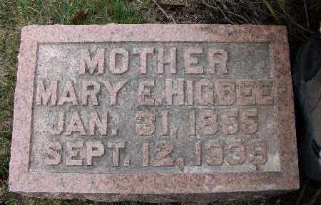 GOODE HIGBEE, MARY E. - Warren County, Iowa | MARY E. GOODE HIGBEE