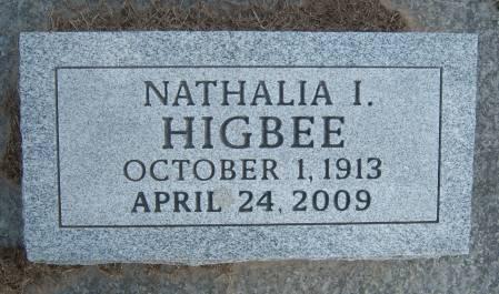 HIGBEE, NATHALIA I. - Warren County, Iowa   NATHALIA I. HIGBEE