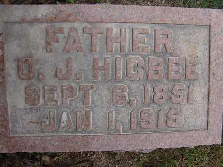 HIGBEE, O. J. - Warren County, Iowa | O. J. HIGBEE