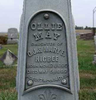 HIGBEE, OLLIE MAY - Warren County, Iowa | OLLIE MAY HIGBEE
