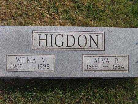 HIGDON, WILMA V. - Warren County, Iowa | WILMA V. HIGDON
