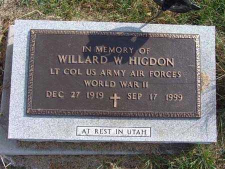 HIGDON, WILLARD W. - Warren County, Iowa   WILLARD W. HIGDON