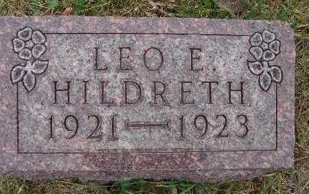 HILDRETH, LEO E. - Warren County, Iowa | LEO E. HILDRETH