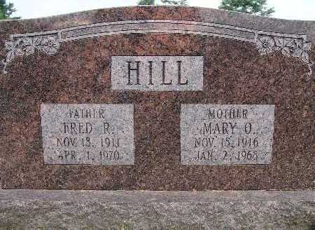 HILL, FRED R. - Warren County, Iowa | FRED R. HILL