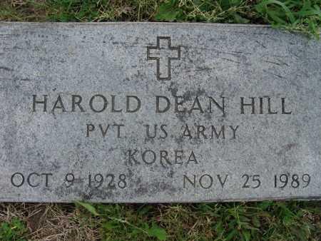HILL, HAROLD DEAN - Warren County, Iowa | HAROLD DEAN HILL