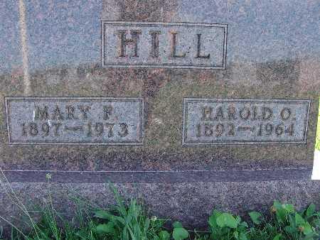 HILL, MARY F. - Warren County, Iowa   MARY F. HILL