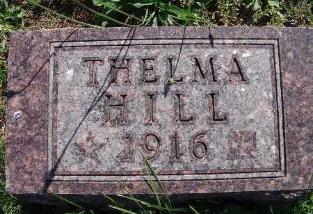 HILL, THELMA - Warren County, Iowa | THELMA HILL