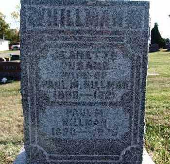 HILLMAN, JEANETTE DURAND - Warren County, Iowa | JEANETTE DURAND HILLMAN