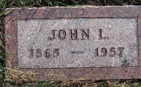 HILLMAN, JOHN L. - Warren County, Iowa | JOHN L. HILLMAN