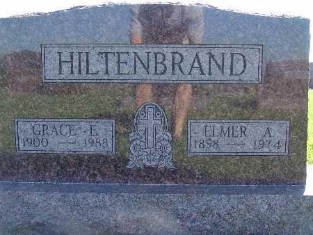 HILTENBRAND, ELMER A - Warren County, Iowa   ELMER A HILTENBRAND