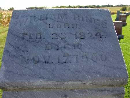 HINES, WILLIAM - Warren County, Iowa | WILLIAM HINES