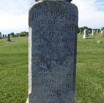 HOBLIT, MARY J. - Warren County, Iowa | MARY J. HOBLIT