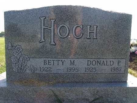 HOCH, BETTY M. - Warren County, Iowa | BETTY M. HOCH