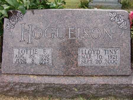HOGUEISON, LLOYD TINY - Warren County, Iowa | LLOYD TINY HOGUEISON