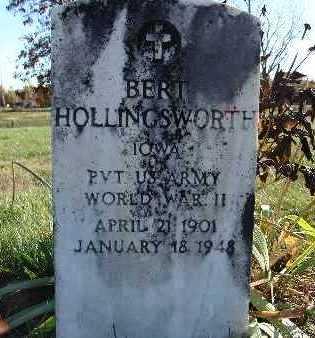HOLLINGSWORTH, BERT - Warren County, Iowa | BERT HOLLINGSWORTH