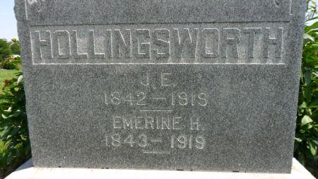HOLLINGSWORTH, JAMES E. - Warren County, Iowa | JAMES E. HOLLINGSWORTH