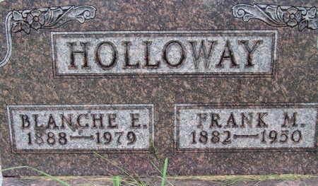 HOLLOWAY, BLANCHE E - Warren County, Iowa | BLANCHE E HOLLOWAY