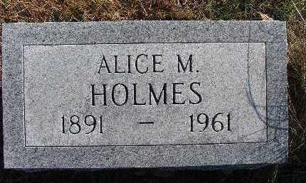 HOLMES, ALICE M. - Warren County, Iowa | ALICE M. HOLMES