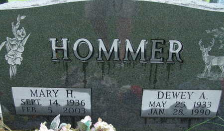 HOMMER, MARY H - Warren County, Iowa | MARY H HOMMER