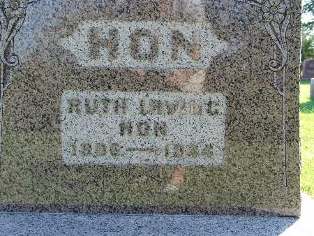 HON, RUTH IRVING - Warren County, Iowa   RUTH IRVING HON
