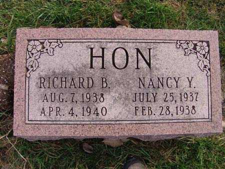 HON, RICHARD B. - Warren County, Iowa   RICHARD B. HON