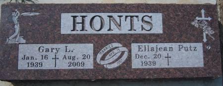 HONTS, GARY L. - Warren County, Iowa   GARY L. HONTS