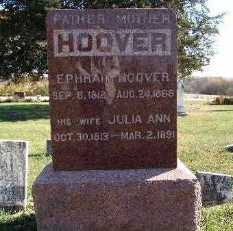 HOWERY HOOVER, JULIA ANN - Warren County, Iowa | JULIA ANN HOWERY HOOVER