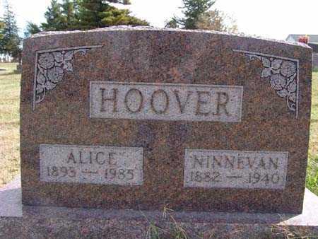 HOOVER, ALICE - Warren County, Iowa | ALICE HOOVER