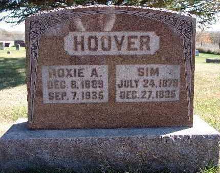 GARRISON HOOVER, ROXIE A. - Warren County, Iowa | ROXIE A. GARRISON HOOVER