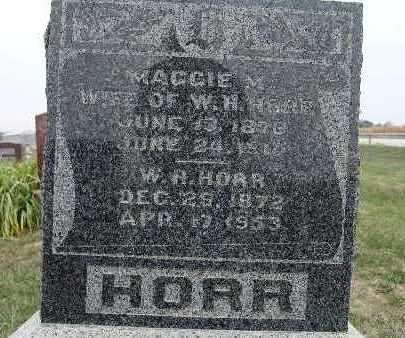 HORR, MAGGIE M. - Warren County, Iowa | MAGGIE M. HORR