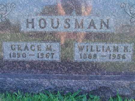 HOUSMAN, GRACE M - Warren County, Iowa | GRACE M HOUSMAN