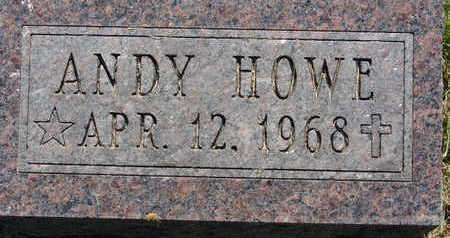 HOWE, ANDY - Warren County, Iowa | ANDY HOWE