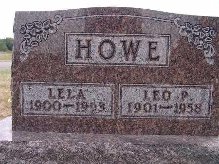 HOWE, LELA - Warren County, Iowa | LELA HOWE