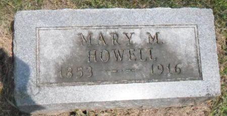 HOWELL, MARY M. - Warren County, Iowa | MARY M. HOWELL