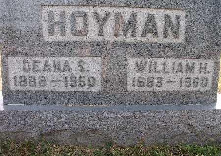 HOYMAN, WILLIAM H. - Warren County, Iowa | WILLIAM H. HOYMAN