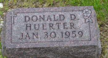 HUERTER, DONALD D - Warren County, Iowa | DONALD D HUERTER